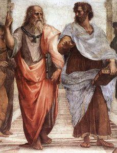 Platão (o mestre) e Aristóteles
