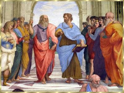 Aristóteles carregando a Ética